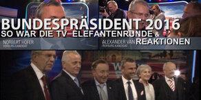 So war TV-Elefantenrunde + Reaktionen