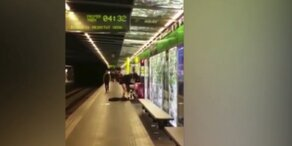 Pärchen beim U-Bahn Sex gefilmt