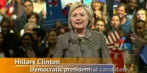 Trump räumt ab, Clinton kaum noch schlagbar