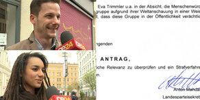 FPÖ klagt Wirtin: das denken Anrainer