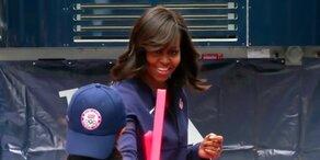 Michelle Obama: Vorfeude auf Olympia