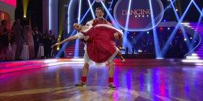 Der Show-Tanz von Thomas Morgenstern und Roswitha Wieland