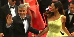 Clooney stellt Film in Cannes vor
