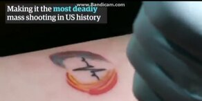 Hunderte wollen Tattoo für Orlando-Opfer