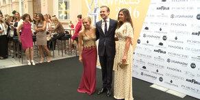 Am Red Carpet des Leading Ladies Awards