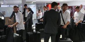 Hier fliegt ÖFB-Team aus Frankreich weg