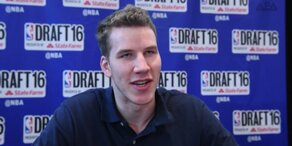 Basketball: Jakob Pöltl vor NBA-Draft noch unaufgeregt