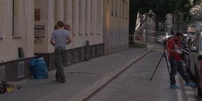 Baumeister in Wien auf offener Straße erschossen