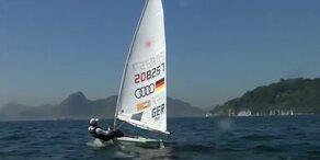 Olympia-Segler testen Gewässer vor Rio