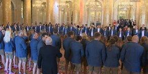 Olympia-Team in Hofburg offiziell verabschiedet