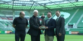 SK Rapid eröffnet Kapelle in neuem Stadion