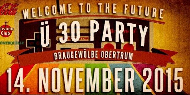 Ü-30 Party im Trumer Braugewölbe