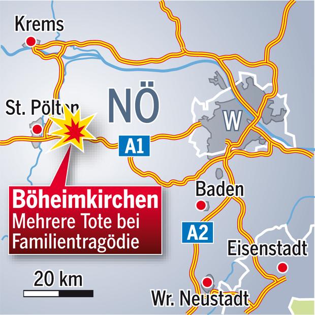 Böheimkirchen Familiendrama