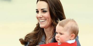 Mega-Sicherheitsaufgebot für Kates Baby!