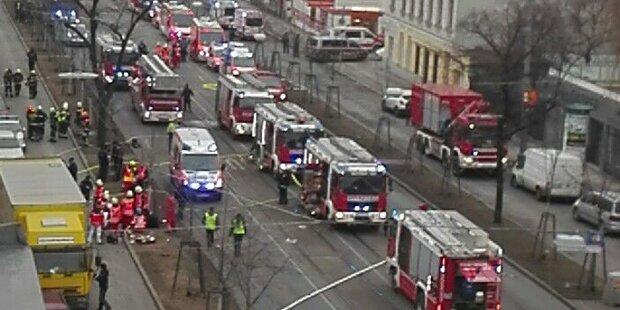Explosion in Wien: Zehn Verletzte, vier davon schwer verletzt