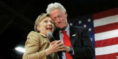 Clintons stehen vor Scheidung?
