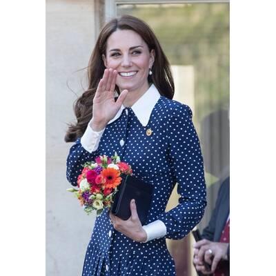 Herzogin Kate recycelt Kleid