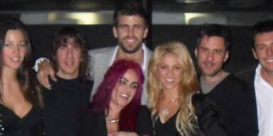 Shakira feiert mit Fußball-Star Gerard Pique seinen Geburtstag