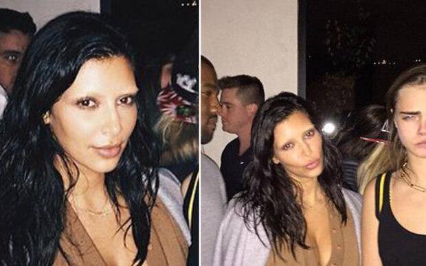 Was ist mit deinen Brauen passiert, Kim?