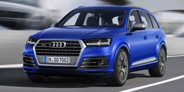 Audi SQ7 TDI kennt kein Turboloch