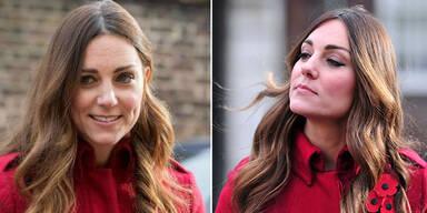 Kate wachsen erste graue Haare