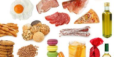 Die 50 fettreichsten Lebensmittel