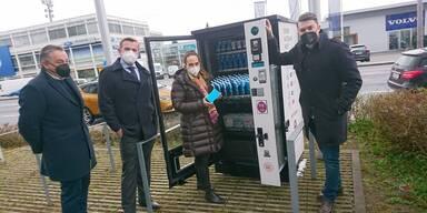 Erster Automat jetzt neu in Salzburg