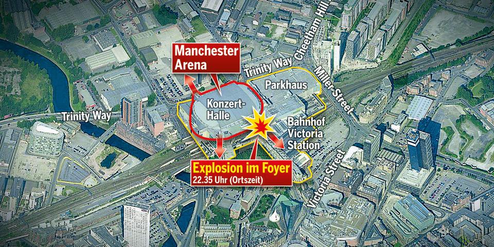 Britische Polizei identifiziert Attentäter: Salman Abedi tötete 22 Menschen