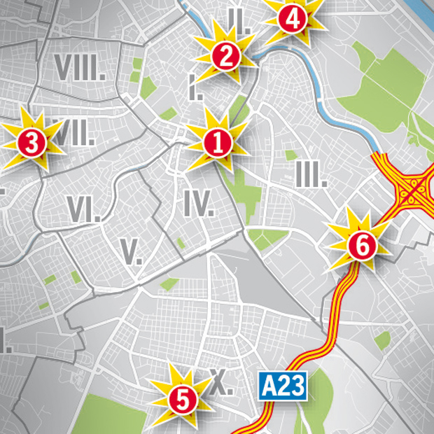 Horror-Kreuzungen Wien