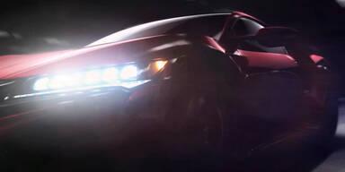 Kurzer Teaser des Acura NSX