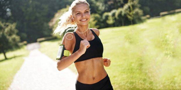 Laufen in der Hitze: Was Sie wissen müssen