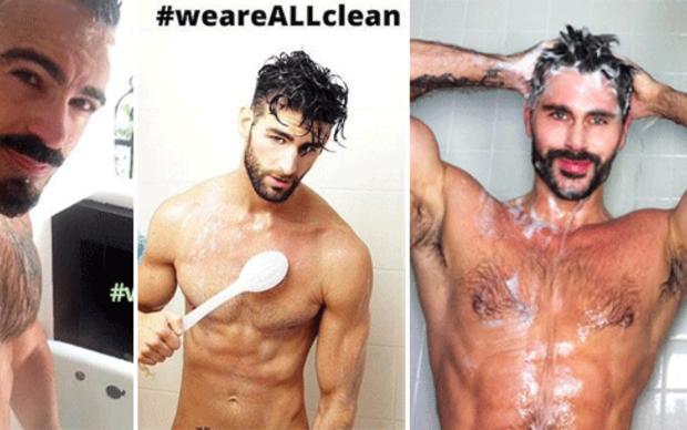 Dusch-Selfies gegen Diskriminierung HIV-Kranker
