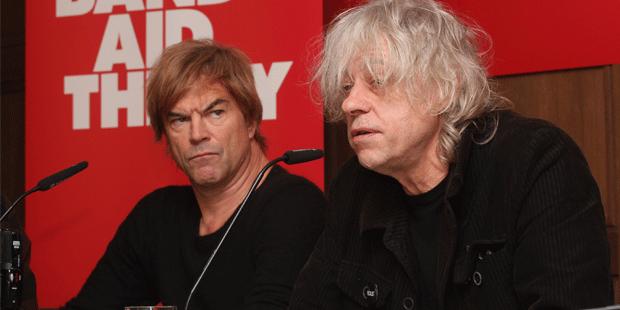 Campino und Geldof weisen Kritik zurück