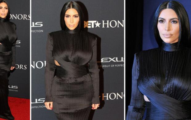 Kim Kardashian als Red Carpet-Ninja