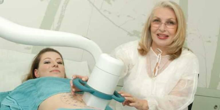 Ultraschall lässt Fett schmelzen