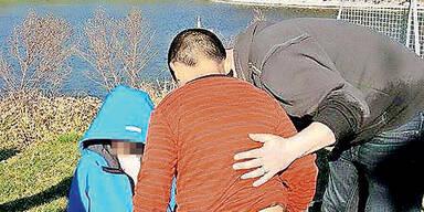 2 Kinder aus Teich gerettet