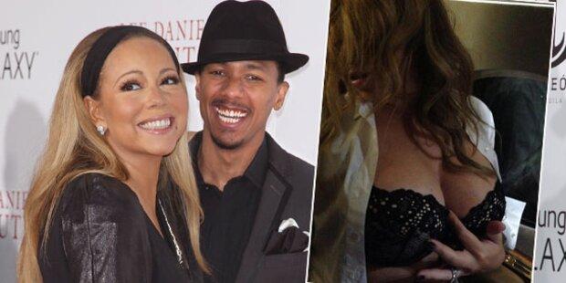 Mariah Carey: Sexy Grüße für ihren Mann