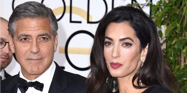 Amal & George Clooney: Es kriselt