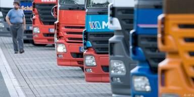 17 Prozent aller Lkw wurden abgemeldet
