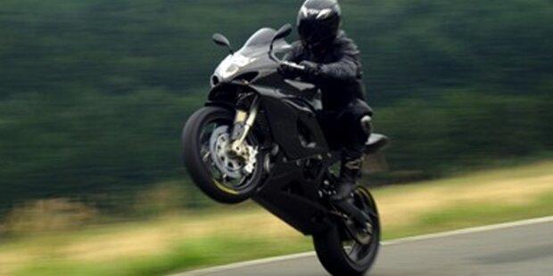 Motorrad mit 194 km/h aus Verkehr gezogen