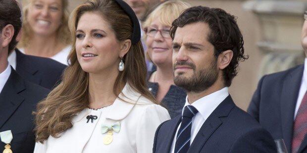 Fehlt Madeleine bei Carl Philips Hochzeit?