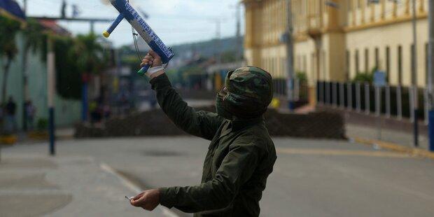 Generalstreik lähmt Nicaragua total
