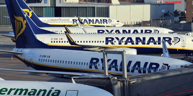 33 Ryanair-Passagiere landen in Klinik