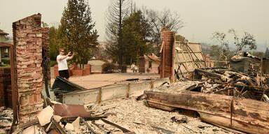 Notstand in Kalifornien wegen Infernos