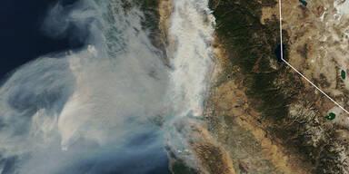 Gift-Smog hängt über Metropole San Francisco