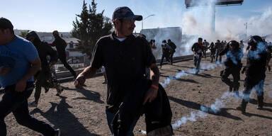 Mexiko fordert Untersuchung über Tränengas-Einsatz