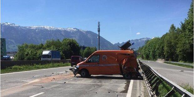 Horrorunfall Westautobahn