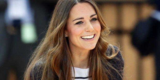 Kate: Total entspannt vor Geburt