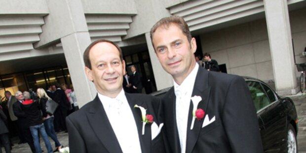 Linz: Erst 20 Homo-Paare trauten sich
