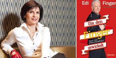 Marion Finger  über das Buch ihres Ex-Mannes: